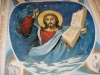 Миколаївська церква, дзвінниця, зображення на стелі
