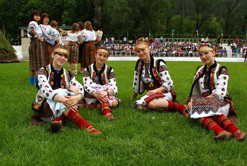 вихід на полонину в Путилі в 2010 р.
