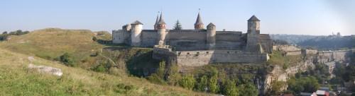 Каменец-Подольский Новый Замок Старая Крепость и Замковй мост