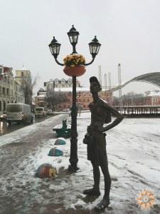 Турист замерзає