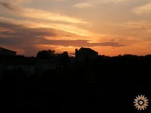 Закат над Ветрянными воротами