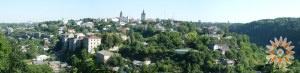 Каменец-Подольский. Панорама Старого города, вид с юга.