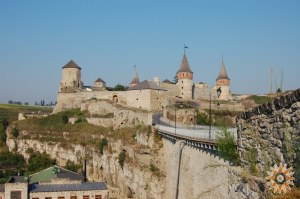 Стара Фортеця - фото зі сходів на Руськи фільваки з Турецького мосту