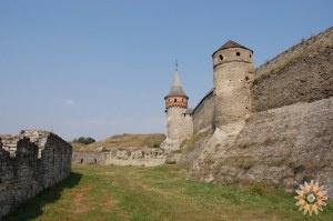 Стара Фортеця - фото південної стіни