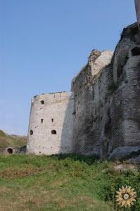 Стара Фортеця - фото Нової башти вигляд вздовж південної стіни