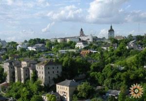 Старе місто зі сходів на Руських