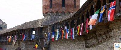 Флаги стран участников фестиваля Свято ковал?в 2009