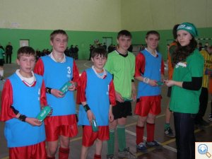 Фото футбольної команди