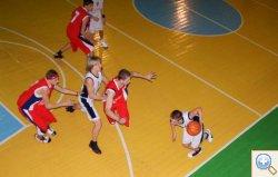 Баскетбол проход по краю