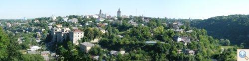Каменец-Подольский фото-панорама старого города