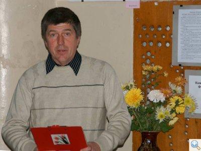 Керівник фото-клубу Погляд Савін Юрій
